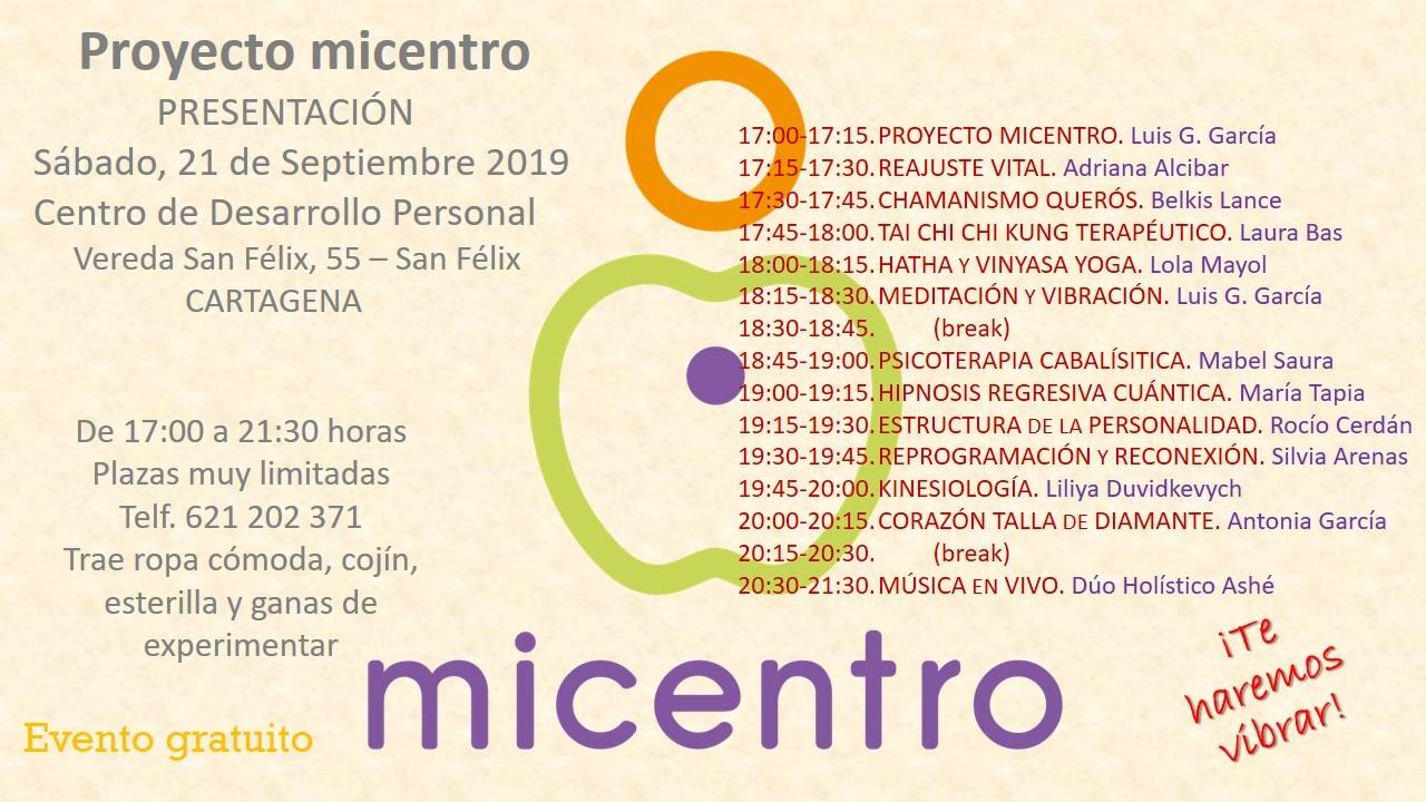 Presentación Proyecto MiCentro